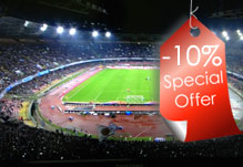 Come to the San Paolo Stadium and save 10 %